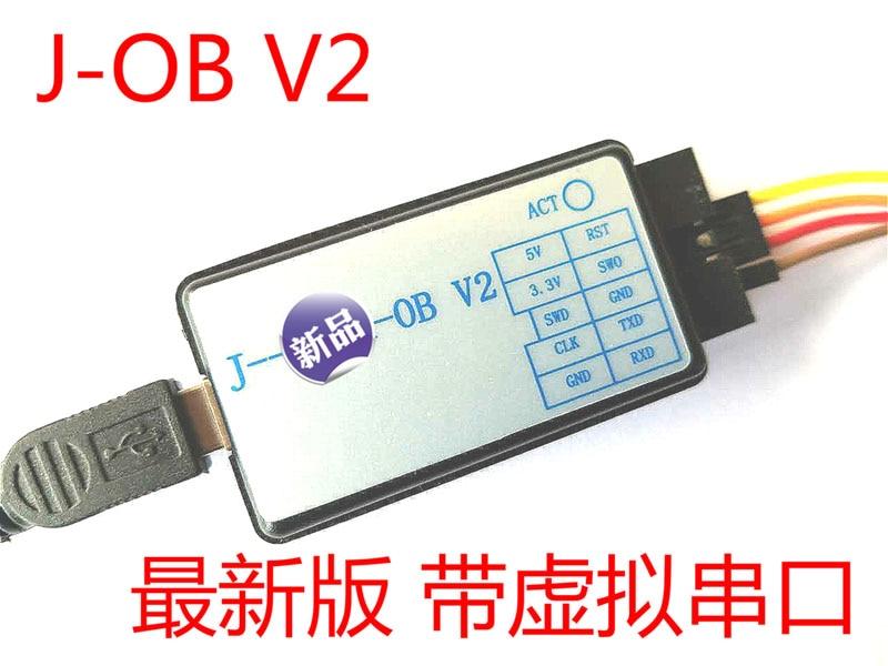 J-OB V2 JLINK OB J-LINK V8 V9 V9.3 STLINK Compatible with Virtual Serial Port title=
