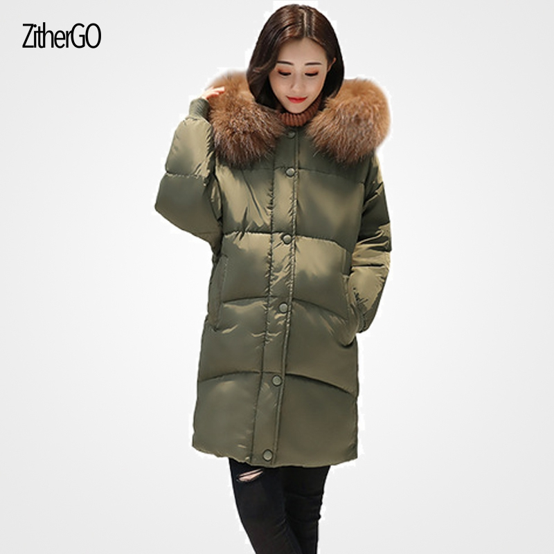 2017 winter woman new outfits loose thicker solid color jacket hooded with fur collar fashion warm outerwears lady coat и другие макацария александр давидович бицадзе виктория омаровна тромботические микроангиопатии в акушерской практике