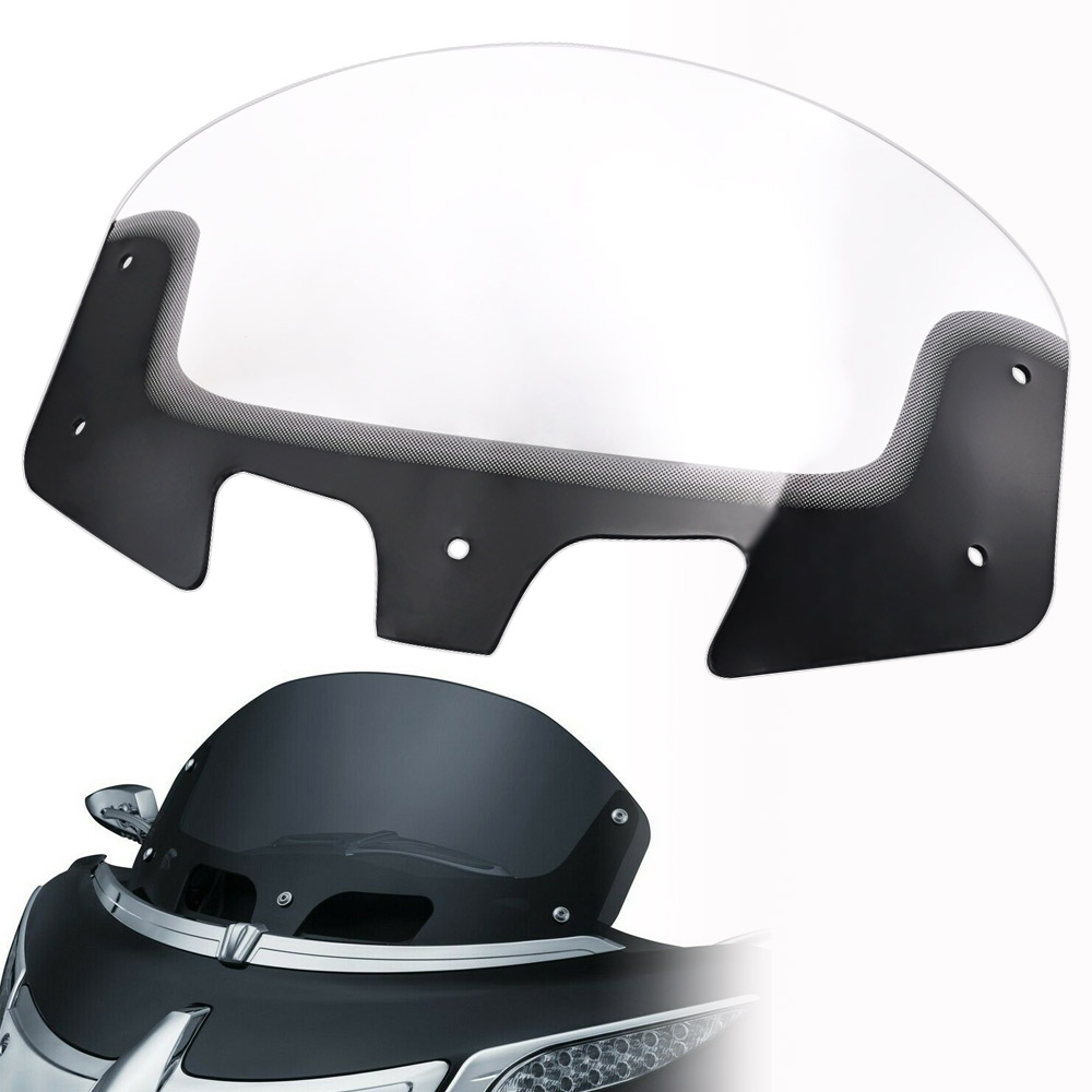 Motorcycle Windshield Windscreen Wind Deflector Gradient Clear For Indian Chieftain Roadmaster Models 2014