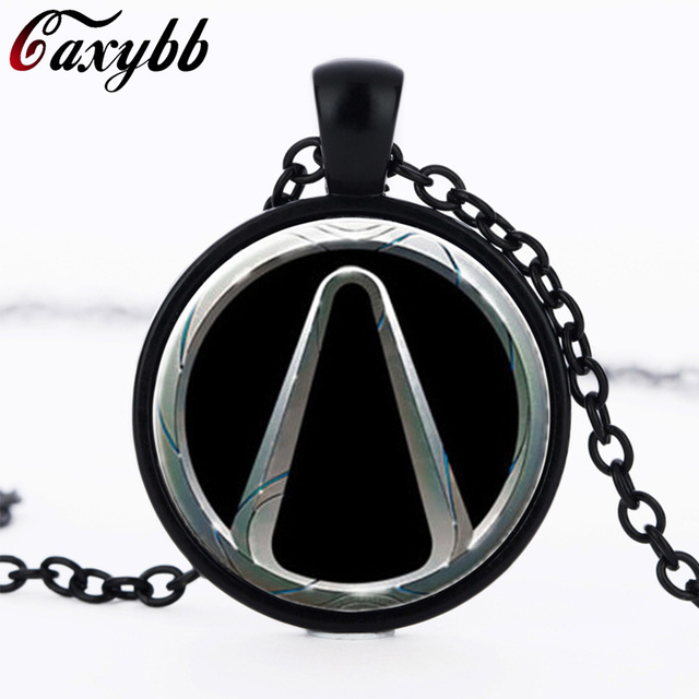 Borderlands Game Necklace Bijoux Handmade Glass Pendant Necklaces
