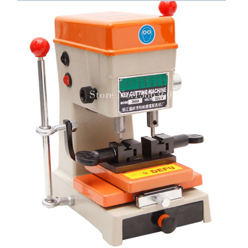 Newest Laser Defu Cutter Key Cutting Machine 368a With Full Set Cutters Tools Parts CP465 electric motor parts for defu key cutting machine 368a 339c model 110v 130volts or 220v 240volts