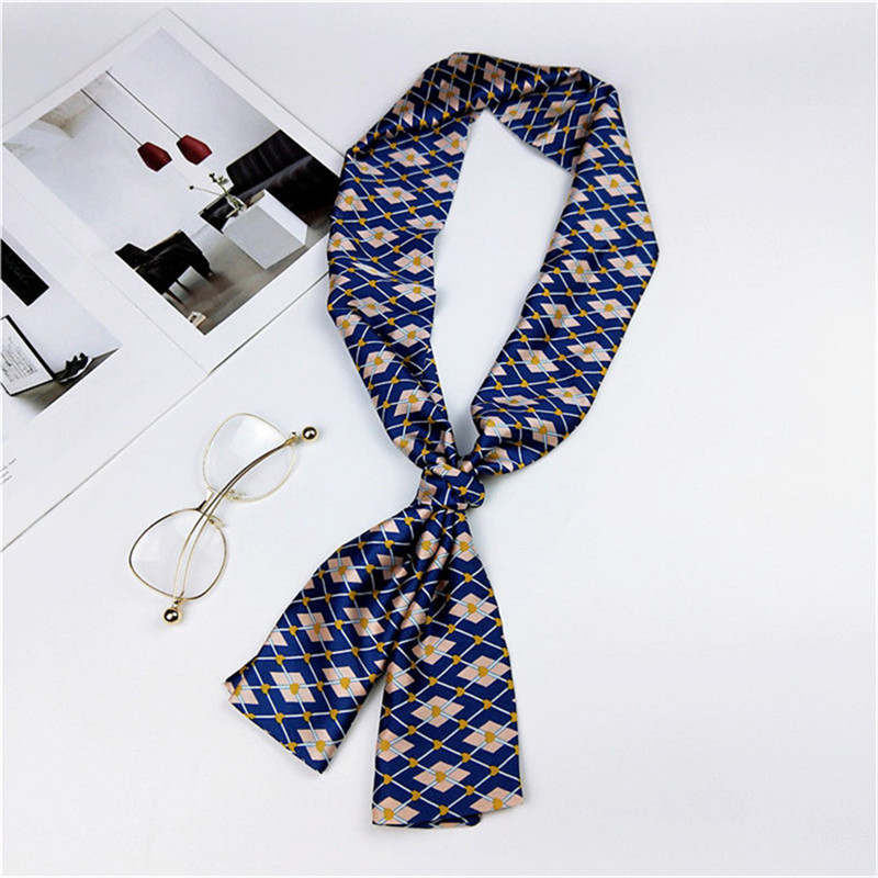New Fashion Shawl Foulard Femme Kerchief Hair Head Spring Neckerchief Women Bandana Chiffon Silk Hijabs Long Scarves & Wraps