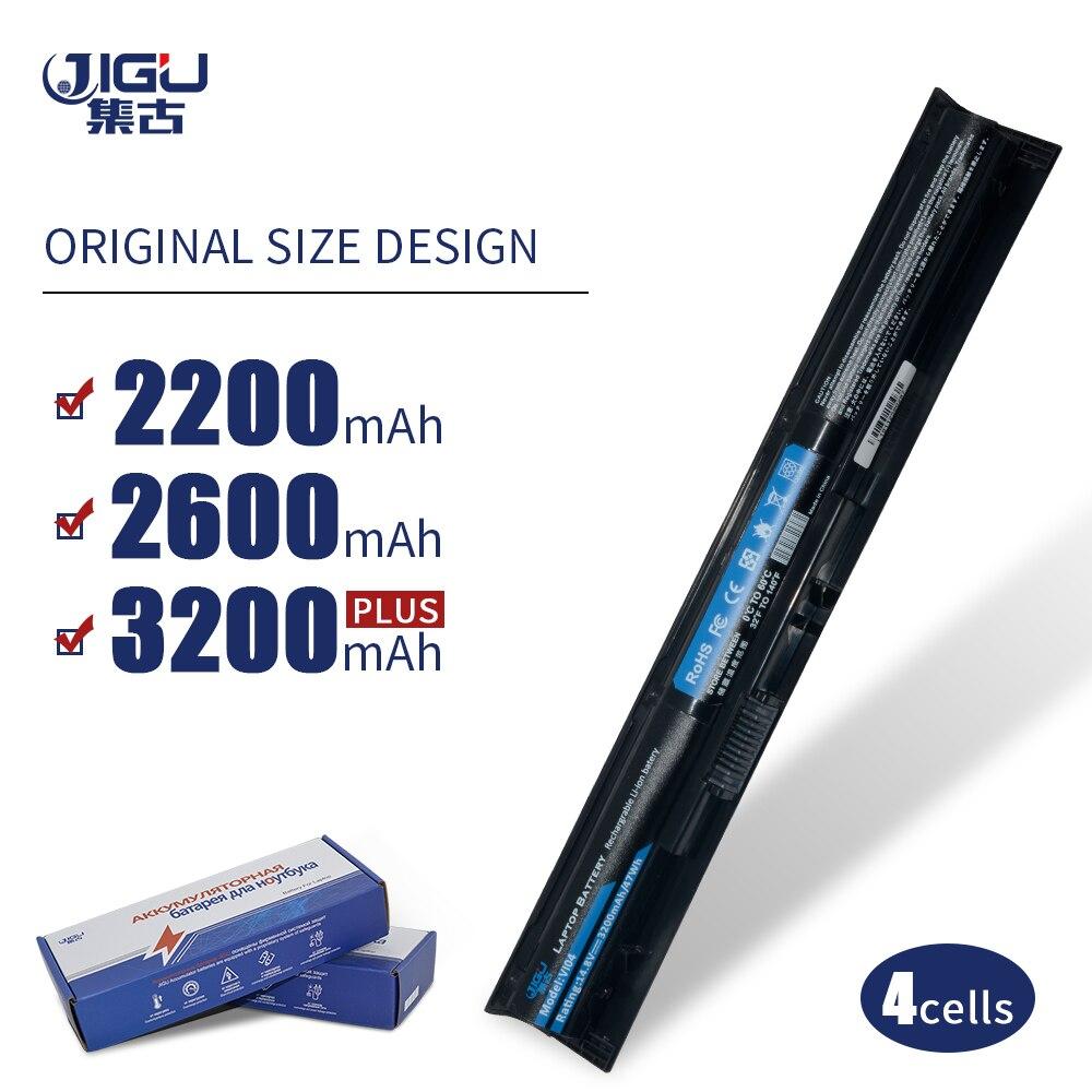 JIGU VI04 Laptop Battery TPN-Q140 TPN-Q141 756478-421 HSTNN-DB6K LB6K For HP Pavilion 17 15 For ENVY 15-K028TX K031TX