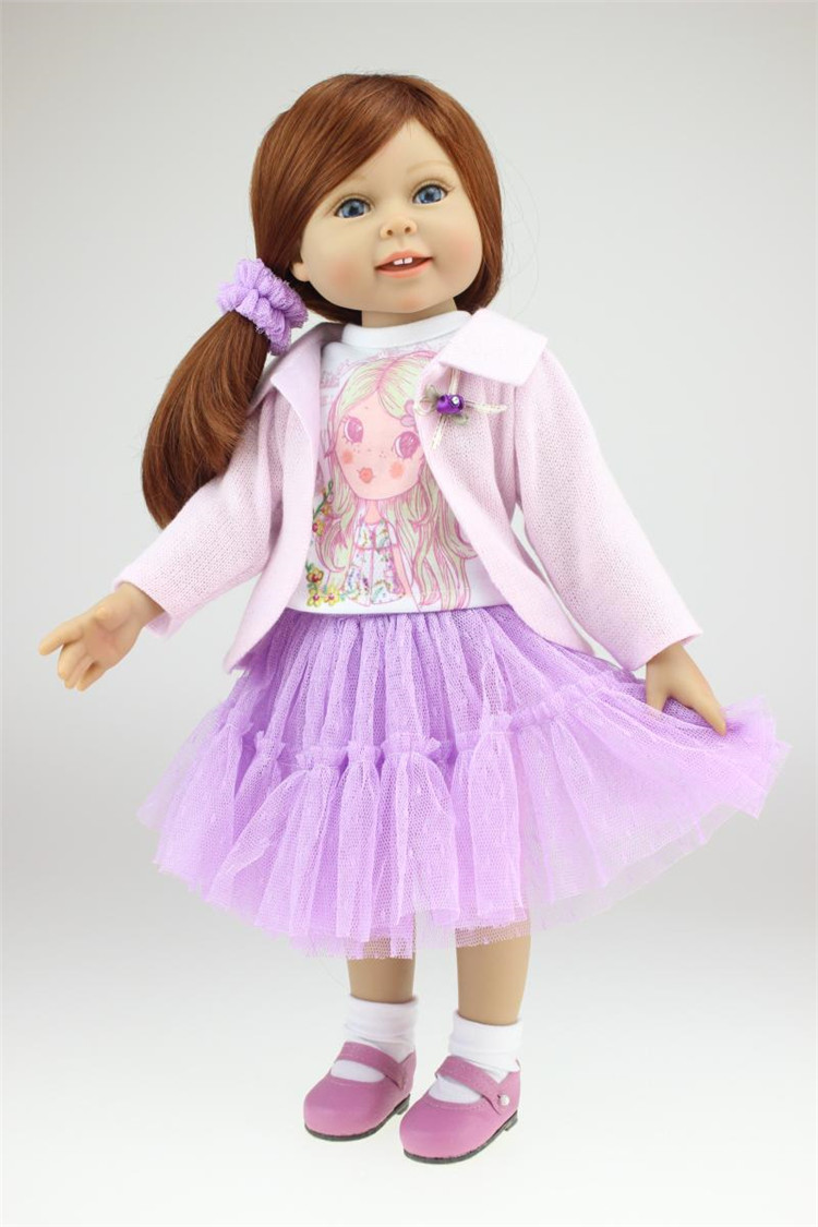 New NPK reborn Girl Doll Princess Doll 18 Inch/45 cm, Soft Plastic Baby Doll Plaything Toys for Children Kids GiftsNew NPK reborn Girl Doll Princess Doll 18 Inch/45 cm, Soft Plastic Baby Doll Plaything Toys for Children Kids Gifts