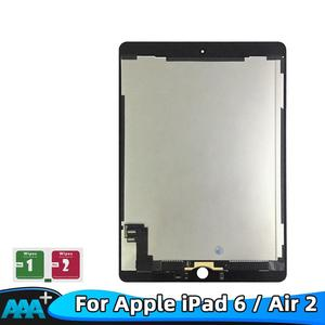 """9.7"""" LCD For Apple iPad 6 Air 2 A1567 A1566 9.7'' 100% AAA+ Grade LCD Display Touch Screen Digitizer Assembly Replacement parts(China)"""
