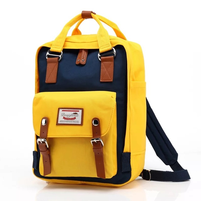 Students Fashion Backpack Bag - Classic Travel Backpack School Bags 4