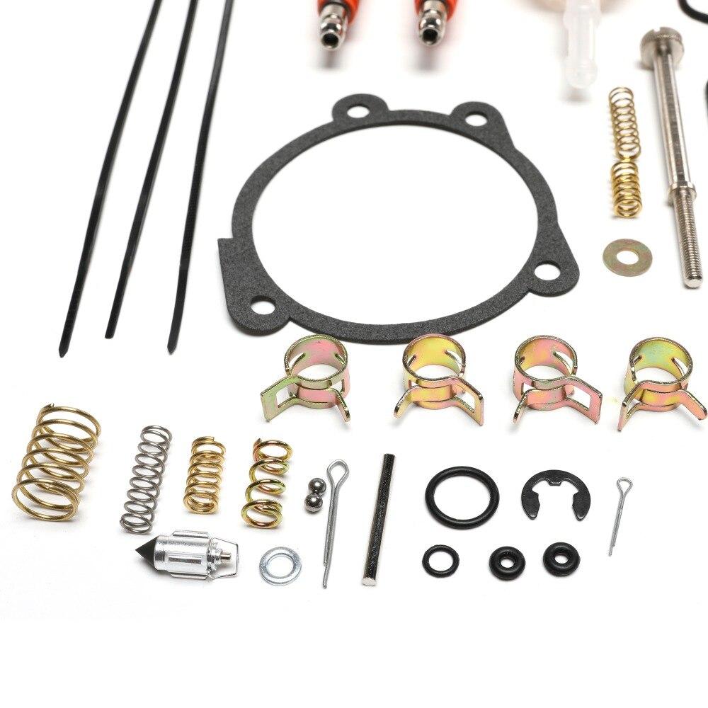 Rebuild Kit for Harley Davidson Keihin CV Carburetor 1990-2018 with Idle  Screw Spark Plug Fuel Filter Low Range Jet 27006-88