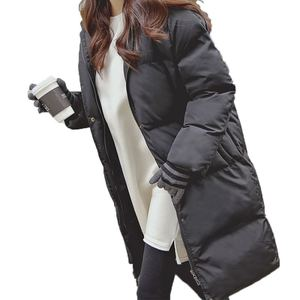 Image 5 - ファッション冬のジャケットの女性2020カジュアルロング冬コート女性黒プラスサイズの女性パーカーcasaco feminino jaqueta feminina