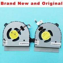 Novo ventilador cpu original para dell m15x r2 portátil cpu ventilador de refrigeração refrigerador dfs200805000t fg22 09f65x dfs200805000t fg23 09m2mv