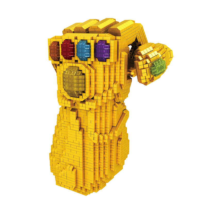 4100pcs LEGOings marvel Thanos Infinity Gauntlet Avengers Infinity War Building model kits toys Collection 16062