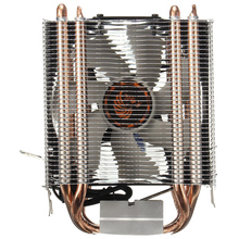 4 HEATPIPE Процессор Cooler теплоотвод для Intel LGA 1150 1151 1155 775 1156 (для AMD) Новый