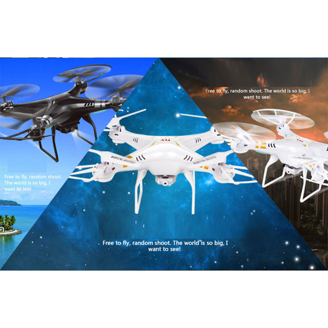 X5SW 2.4 Ghz 4CH RC Helicóptero Quadcopter Drone RTF Cámara Transmisión En Tiempo Real
