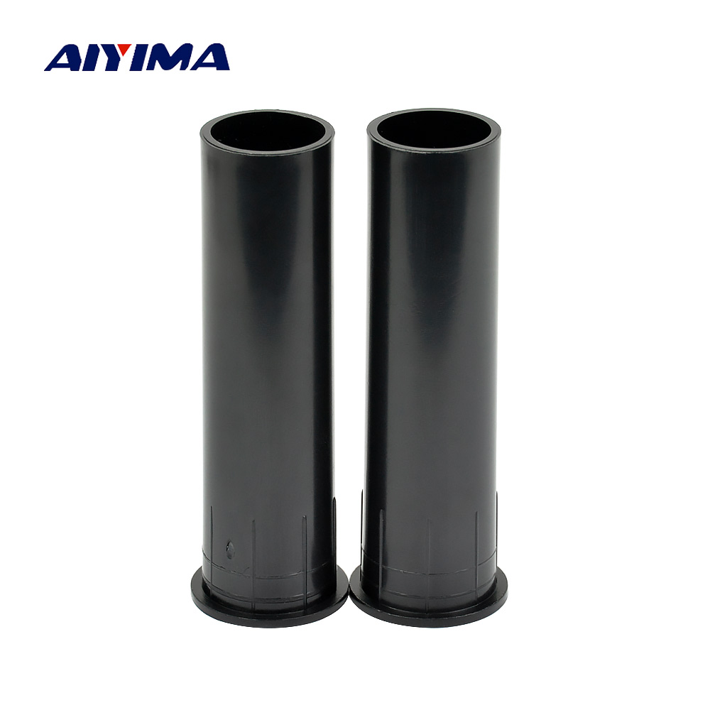 AIYIMA 2Pcs Audio Speakers Dedicated Inverted Tube ABS Loudspeaker Guide Tube Sound Box Speaker Accessories DIY For Home Theater