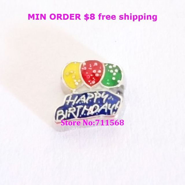 Happy Birthday Floating Charms Birthday Balloon DIY Floating Charms