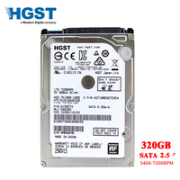 HGST Brand Laptop PC 2.5 320GB SATA2 sata3 320MB/s Notebook hdd hard disk drive 2mb/8mb 5400 7200RPM disco duro free shipping