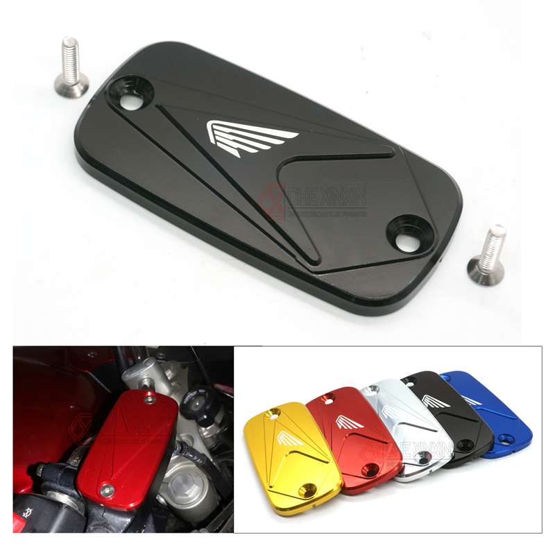 Brake Reservoir Covers : Motorcycle front brake fluid reservoir cover for honda cbr