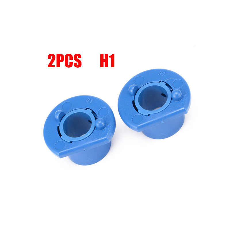 2pcs Car LED Halogen Headlight H1 Lamp Bulb Base Adapter Sockets Retainer Holder H1 Replacement