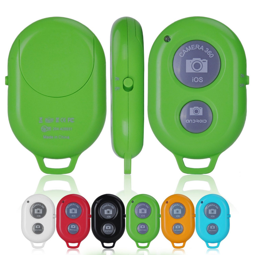 Wireless Bluetooth Camera Remote Control Self-timer Shutter iPhone GREEN