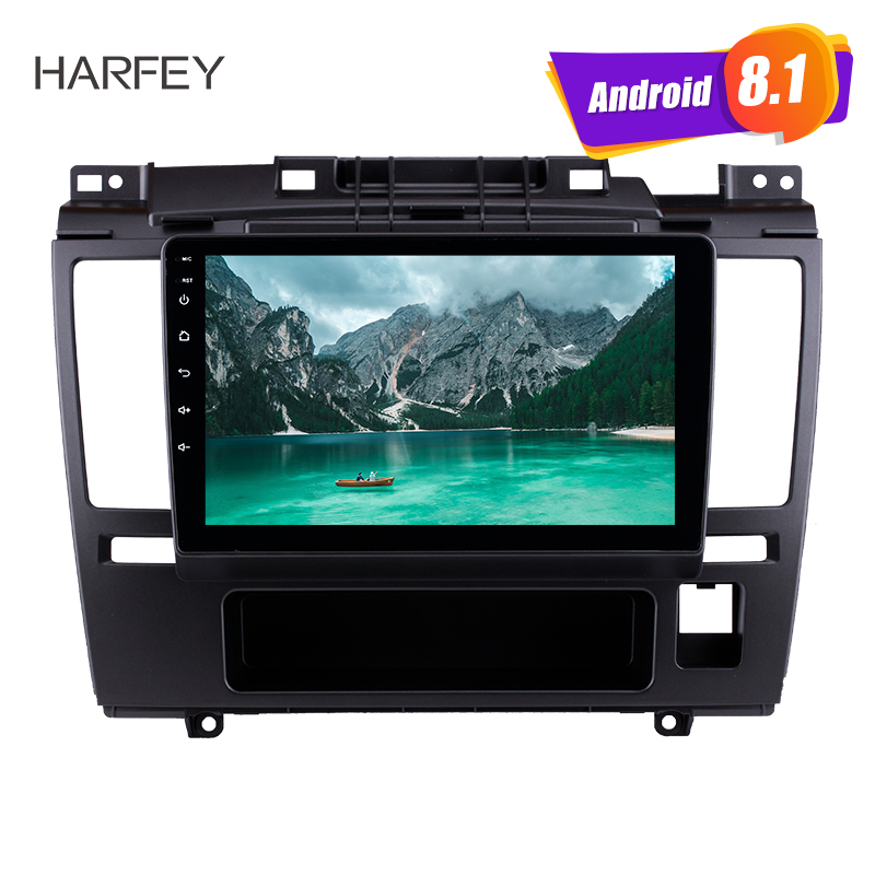 Harfey Android 8.1 9 inch HD Touchscreen GPS Navi Car autoradio For 2005 2006 2010 Nissan Tiida with USB Bluetooth DVR AUX Wifi