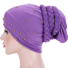 Women Hair Care Islamic Jersey Head Scar