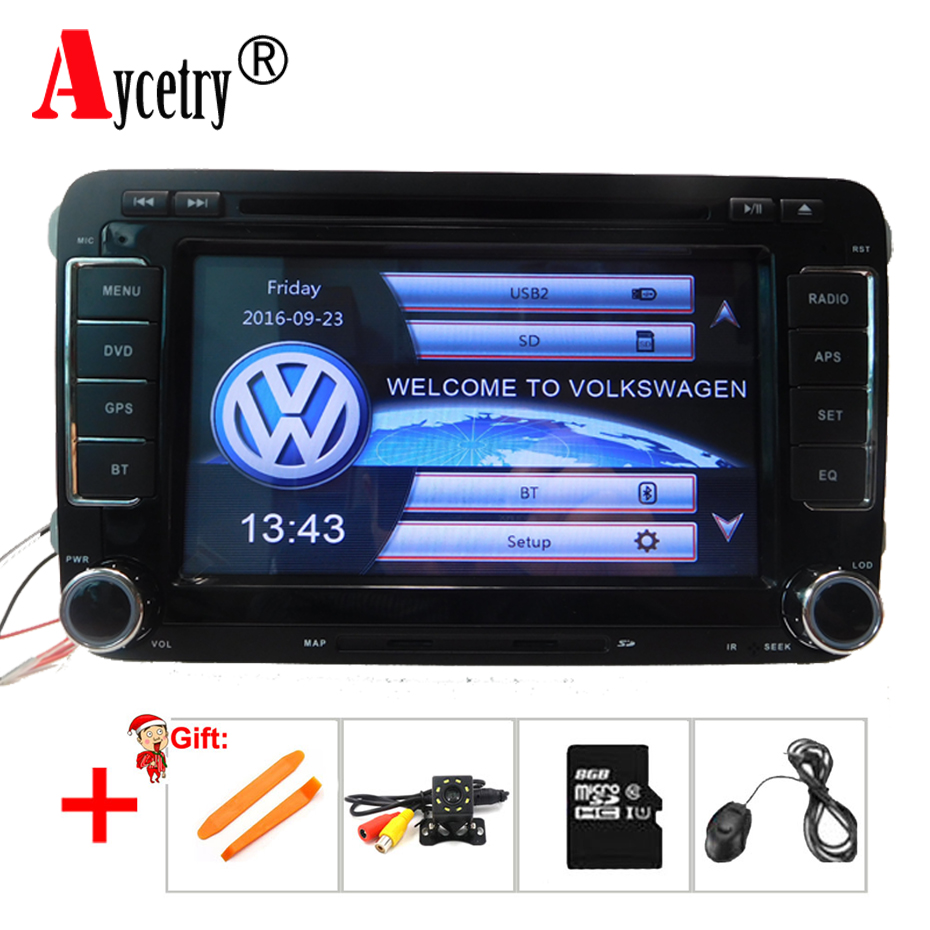 2 Din Car Multimedia dvd player For Skoda Octavia Yeti Fabia Rapid Superb Seat VW GOLF