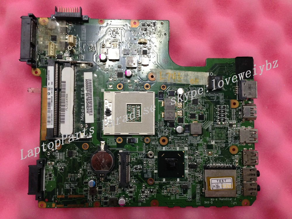 A000093450 31TE5MB00G0 DAOTE5MB6F0 laptop motherboard for TOSHIBA satellite L745 series INTEL i5 HM65 INTEGRATED GMA main card