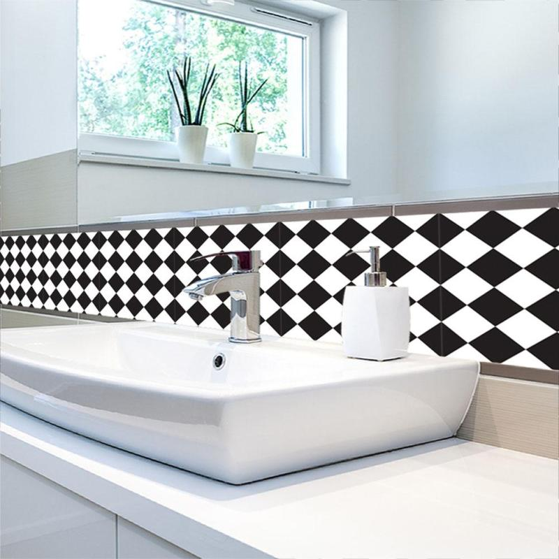 Black And White Retro Bathrooms retro bathroom tiles promotion-shop for promotional retro bathroom