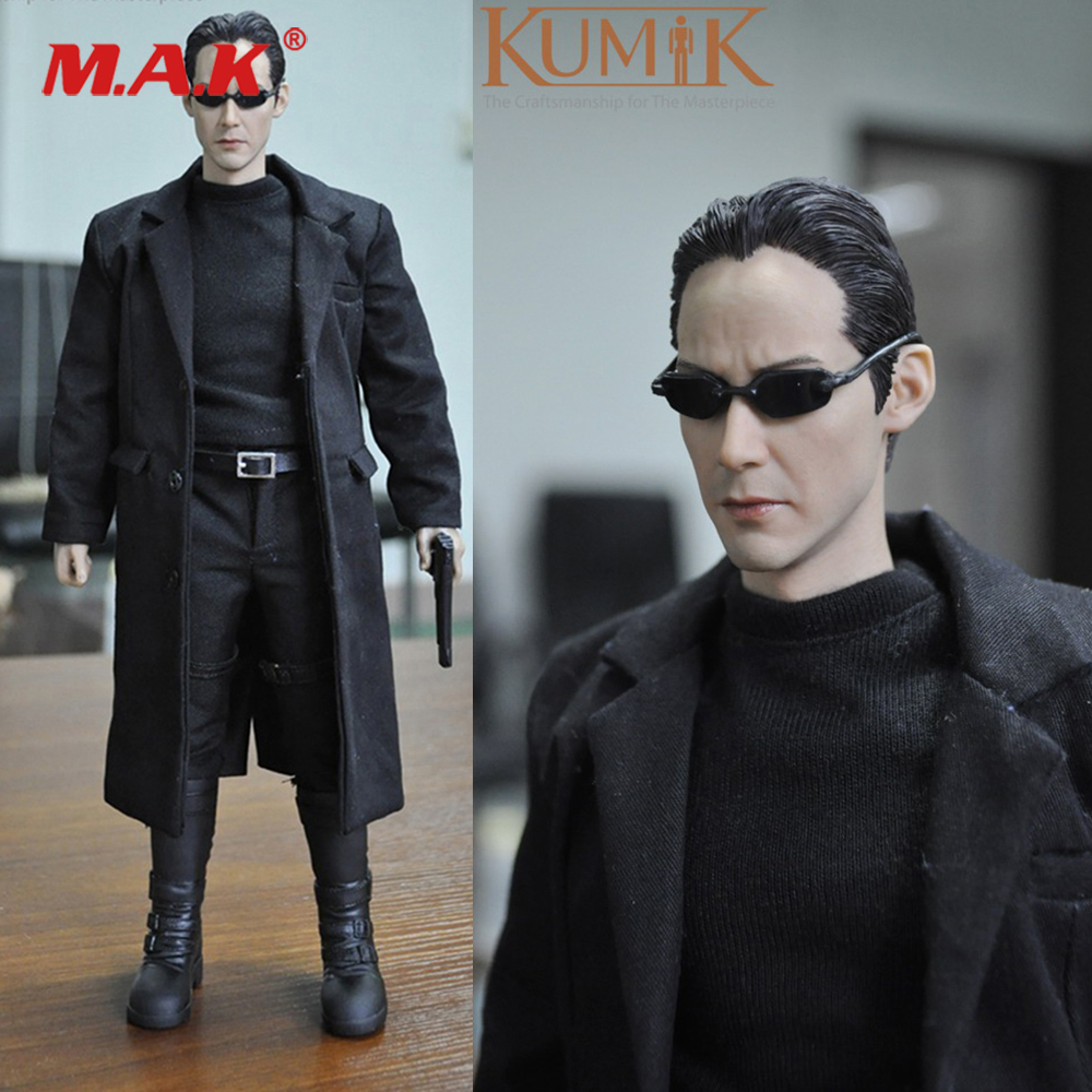 1/6 Scale Full Set Collectible KMF034 Custom The Matrix Keanu Reeves Action Figure for Fans Collection Toys Gift 1 6 harry potter order of the pheonix mad eye moody full set action figure 12 collectible action figures for fans birthday gift
