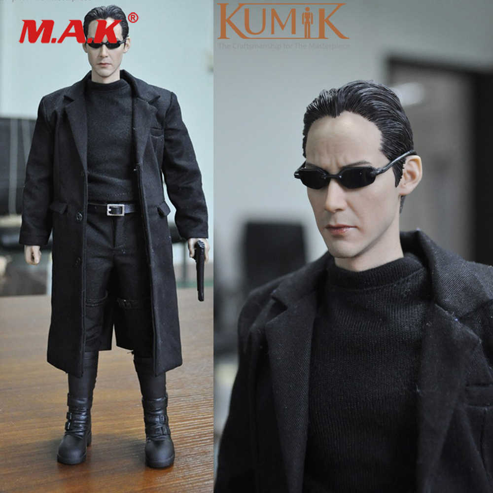 1//6 Scale-Redman Action Figures Keanu NEO THE ONE-Chair Figure