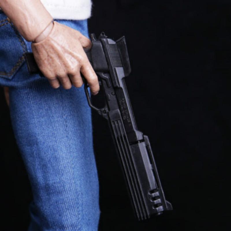 Soldier Weapon Model 1/6 Robocop Automatic M93R Pistols Weapon Gun Model Gun Toys For 12