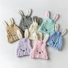 Cute Long Ear Rabbit Dry Hair Cap Shower Bath Towel Strong Absorbing Drying Velvet Ultra-Soft Special Hat Towels