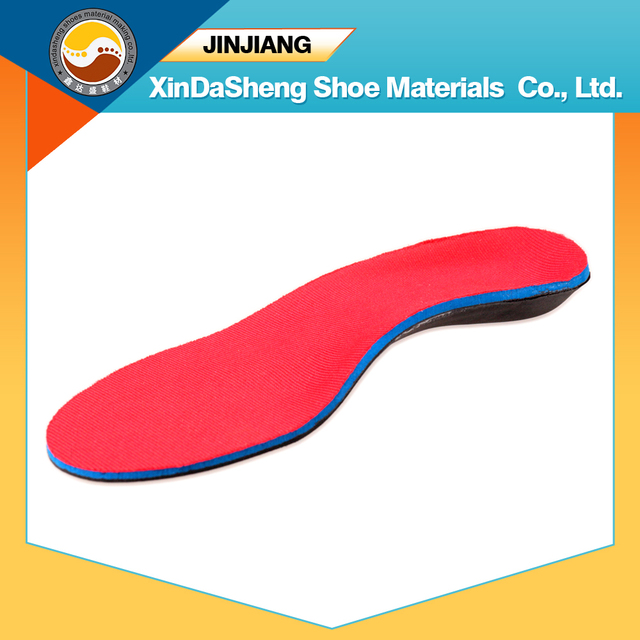 Anti-slip asséptica Mouldproof PVC apoio do arco ortopédicos palmilha esportes