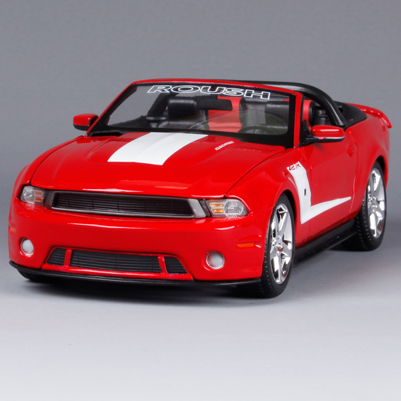 Maisto 1:18 2010 ROUSH 427R Fodr Mustang Muscle Car Diecast Model Car Toy New In Box Free Shipping 31669 maisto bburago 1 18 fiat 500l retro classic car diecast model car toy new in box free shipping 12035