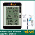 misol / Pro Wireless Weather Station with PC connection, wind speed, weather forecast