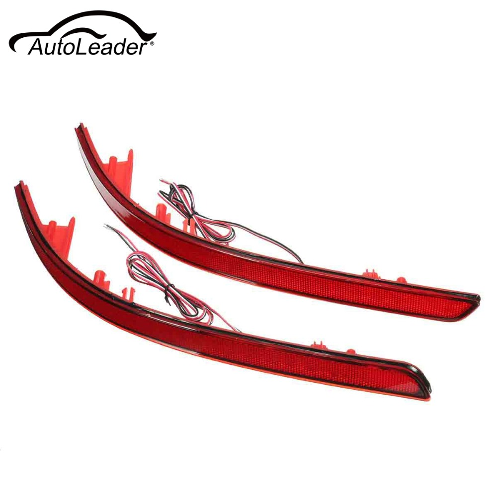 AutoLeader Reflector Red Rear Tail LED Bumper Brake Stop Running Light For KIA/K5/Optima/Magentis 2011 Warning Stop Fog Lamp
