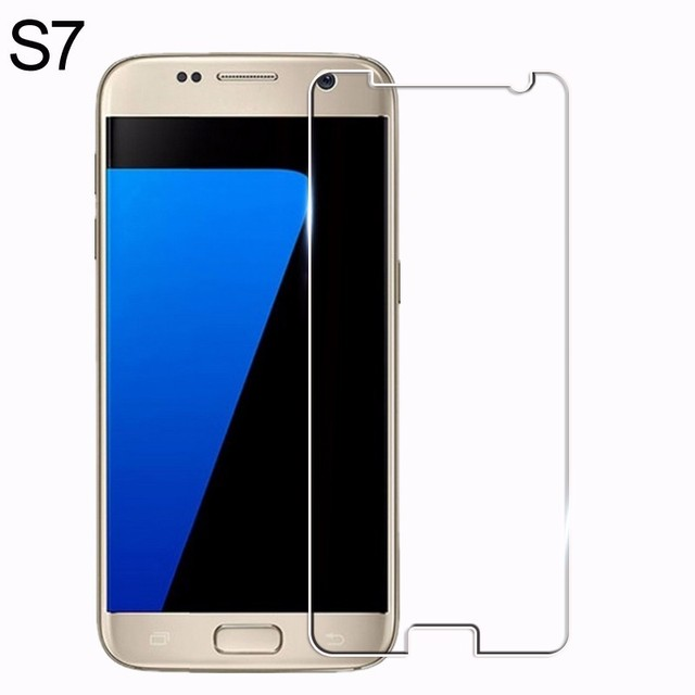 For samsung galaxy s3 s4 s5 s6 s7 tempered glass film 9H...