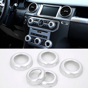 Volume and Air Conditoin Button Trim Car Accessories For Land Rover Discovery 4 2010-2016 Range Rover Sport 2010-2013