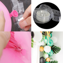 1pc 5M Accessories Balloon Wedding PVC arch decoration balloon chain Party Birthday Balloons Backdrop Decor