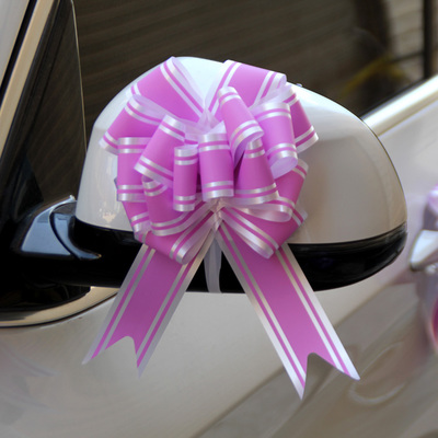 Pull Bows 50mm Ribbon Flower Wedding Gift Wrap Birthday Hampers Car Decoration