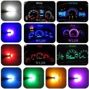 Image 2 - WLJH 6x PC74 T5 LED אור מנורת רכב מכשיר לוח אור לוח מחוונים נורות עבור הונדה אקורד CR V סיוויק אודיסיאה פרלוד CRX S2000