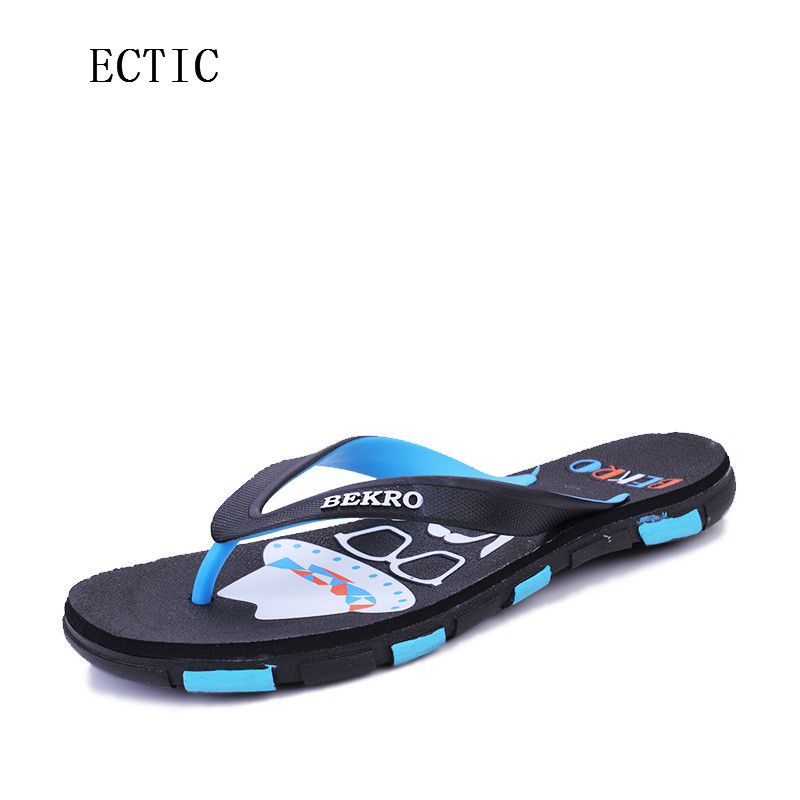 2017 NEW Men's flip flops Genuine  Slippers Summer fashion beach sandals shoes for men plus size  Hot Sell zapatillas hombre ft012 16 brushless motor spare parts