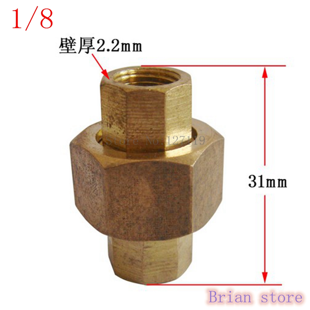 Female Inch Bsp Length Mm Malleable Slip Joint Connection Brass Plumbing Pipe
