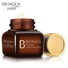 BIOAQUA Anti Puffiness Anti Aging Dark Circle Moisturizing Advanced Night Repair Eye Cream Lift Firming Eye Skin