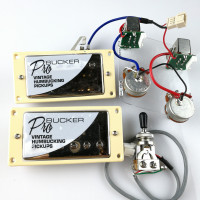 1 Set EPI Pro Bucker N And B Electric Guitar Humbucker Pickups With Pro Wiring Harness