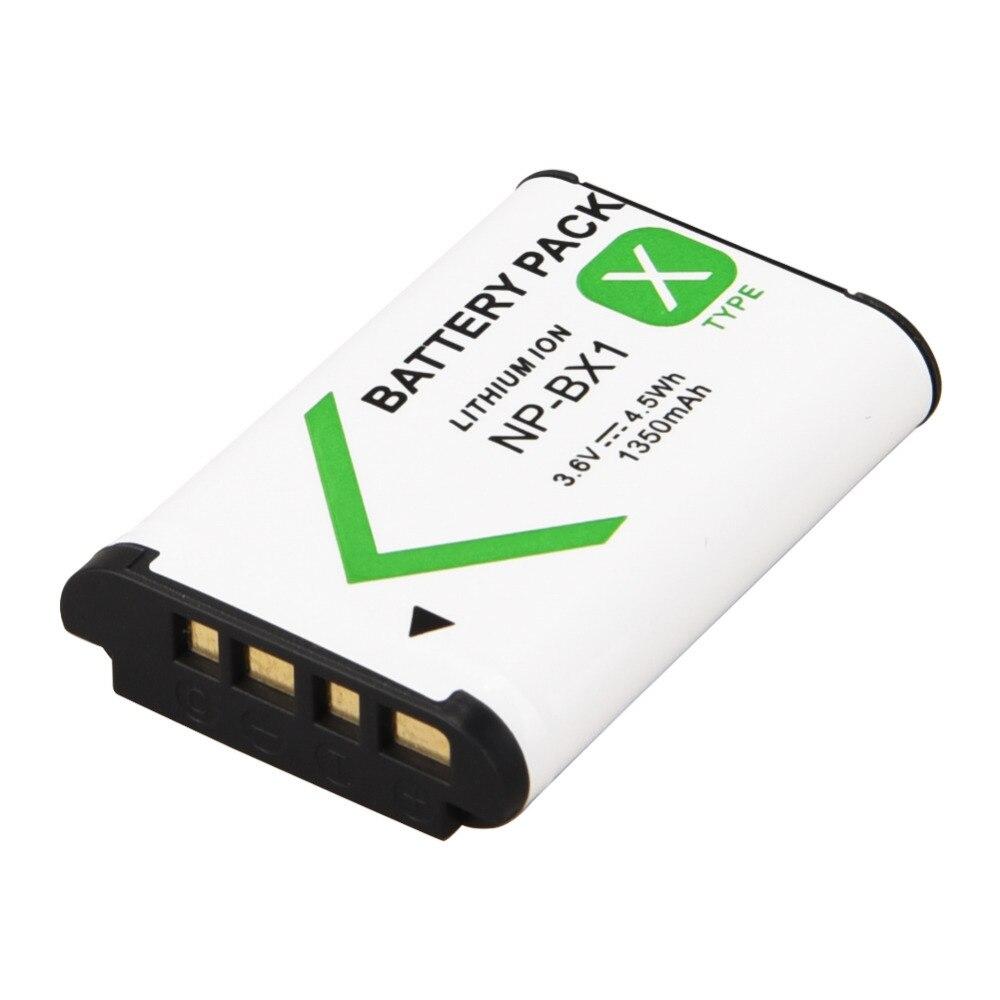 1pcs 3.6V 1350mAh Digital Li-ion Battery NP-BX1 For Sony DSC RX1 RX100 M3 M2 RX1R GWP88 PJ240E AS15 WX350 WX300 HX300 HX400