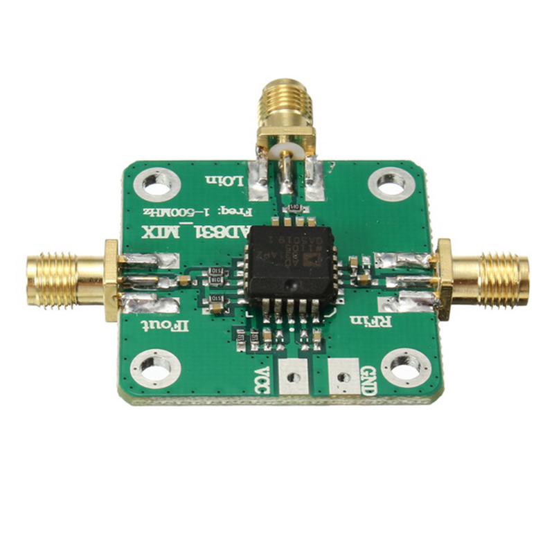 0 1 500MHz AD831 high frequency RF mixer drive Amplifier Module Board HF VHF UHF in Operational Amplifier Chips from Consumer Electronics