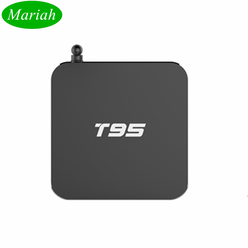 ФОТО 10PCS Original 2GB/8GB Bluetooth 4.0 TV BOX Best T95 Amlogic S905 8-Core GPU Android 5.1 Real 4K WIFI 2.4GHz/5.0GHz DHL free