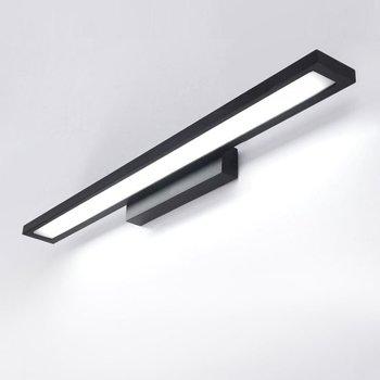 פמוטים קיר אלומיניום מודרני LED רחצה חדר כביסת קיר אור מנורת פנל פלסטיק לבן מירור שפתוחה גופי תאורה