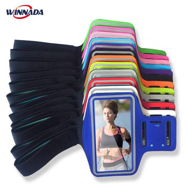 Cánh tay túi cho Huawei mate SE 10 9 pro 8 7 P20 lite/p9 +/p10 + chạy phòng tập thể dục Tập Thể Dục ban nhạc thể thao pouch + khe cắm CHÌA KHÓA trường hợp điện thoại bìa coque