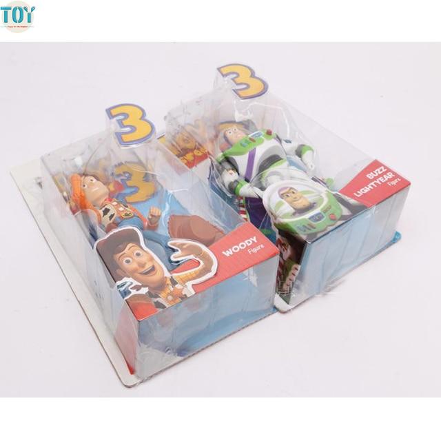Nueva Toy Story 3 Pixar Buzz Lightyear Sheriff Woody película figuras de acción  muñeca ala niños 072dc6a5265